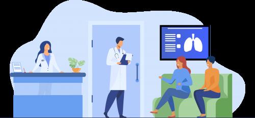 digital signage for hospitals